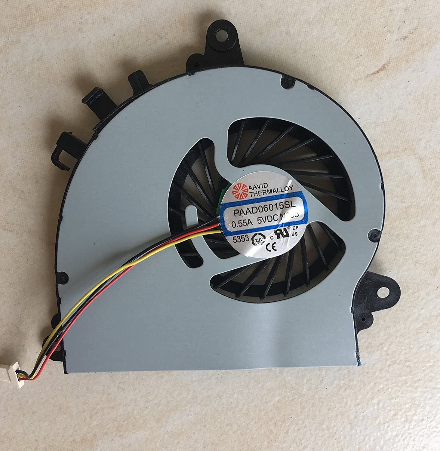 iiFix Brand New Laptop GPU Graphics Cards Cooling Cooler Fan For MSI GS70 GS72 GTX 765M AAVID PAAD06015SL 0.55A 5VDC N269 3 Pins