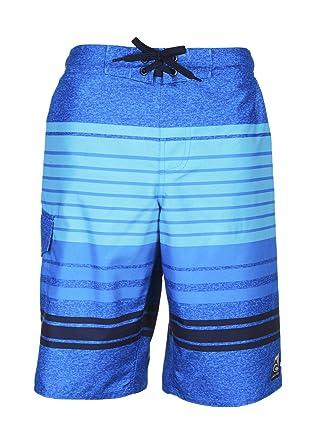 1657b6a588f0b Amazon.com: LAGUNA Boys Impact Zone Swim Trunk Blue Combo 8: Clothing