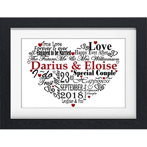 Personalised Frames with Words: Amazon.co.uk