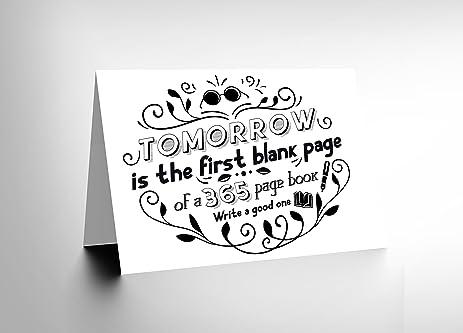 amazon com friend love tomorrow blank page new art greetings gift