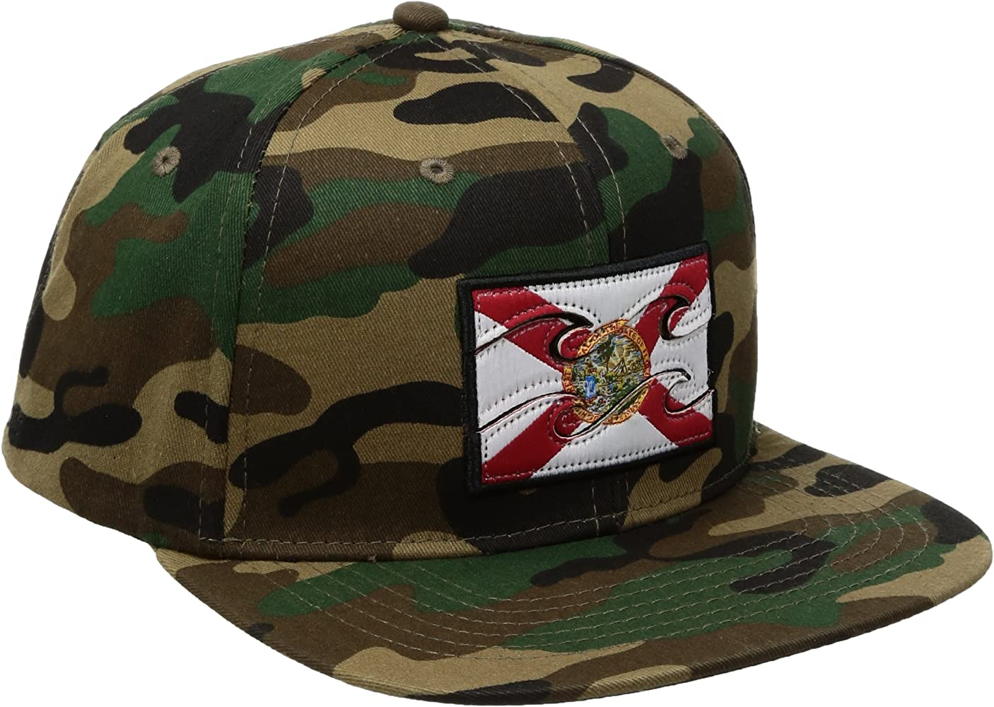 1eb5923f2401 Men's Native Camo Snapback Hat