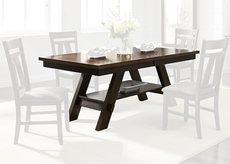 Liberty Furniture Industries Lawson Rectangular Table, W40 x D90 x H30, Black