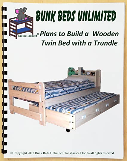 Bunk Beds Unlimited Trundle Bed Diy Woodworking Plan To Build Your