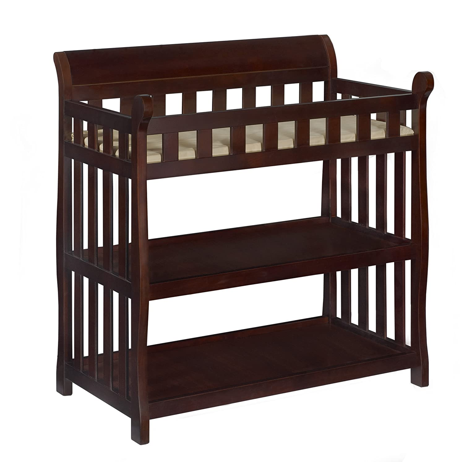 Charmant Amazon.com : Delta Children Eclipse Changing Table, Vintage Espresso : Baby