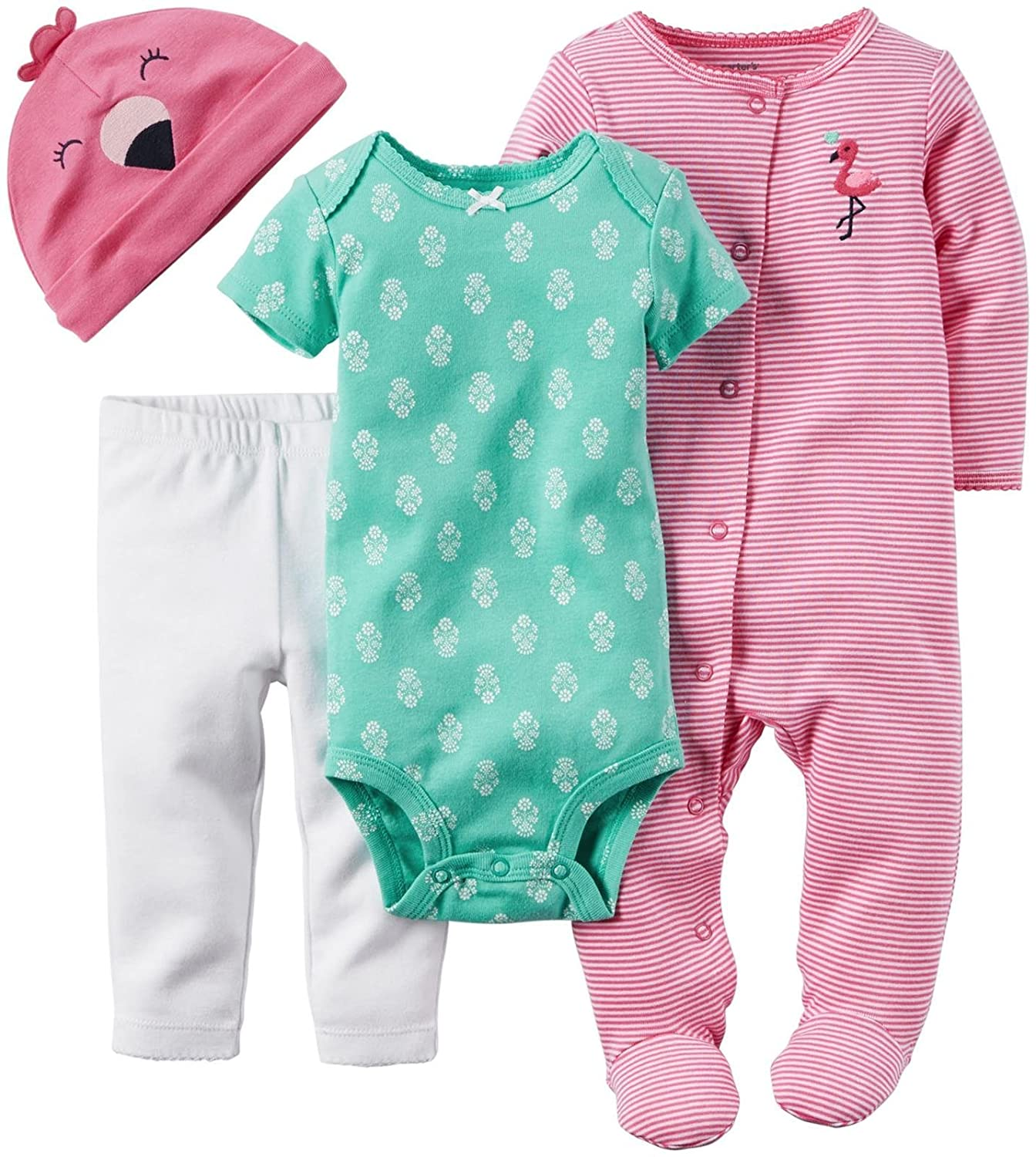 Carter's Baby Girls' Daddy's Sweetheart 4-Piece Layette Set Carter' s 1239310