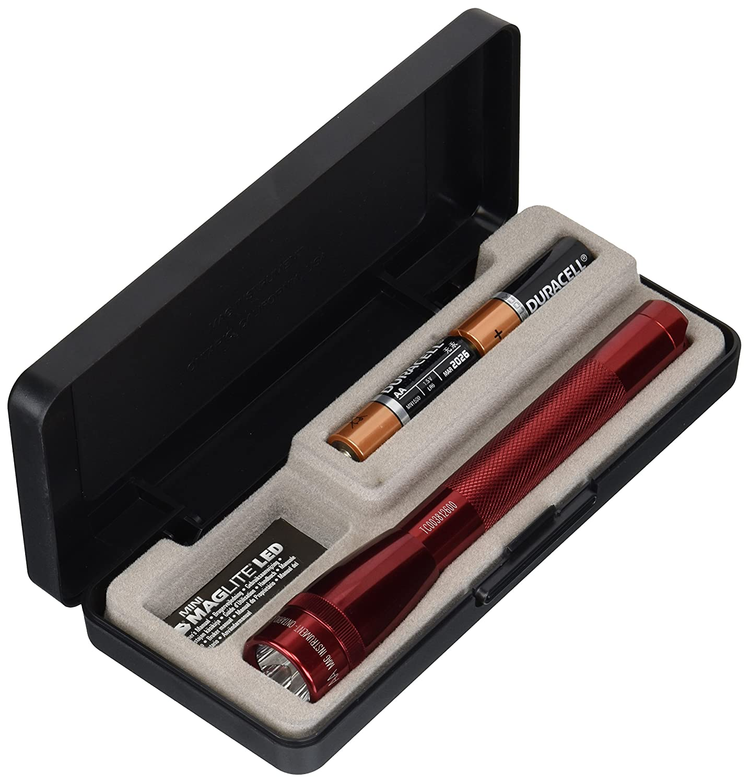 MagLite AA Mini LED Flashlight Presentation Box Red Pro-Motion Distributing Direct SP22037