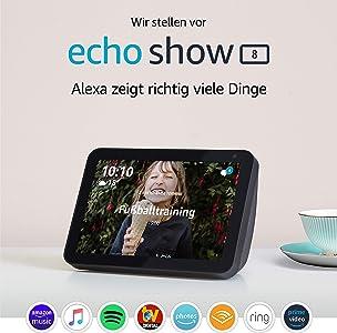 Wir stellen vor: Echo Show 8 | Smart Display mit 8 Zoll
