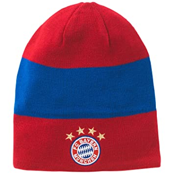 134a475e77c adidas Men s FC Bayern 3S Mens Beanie M60158 Red Fcb True Red Collegiate  Royal