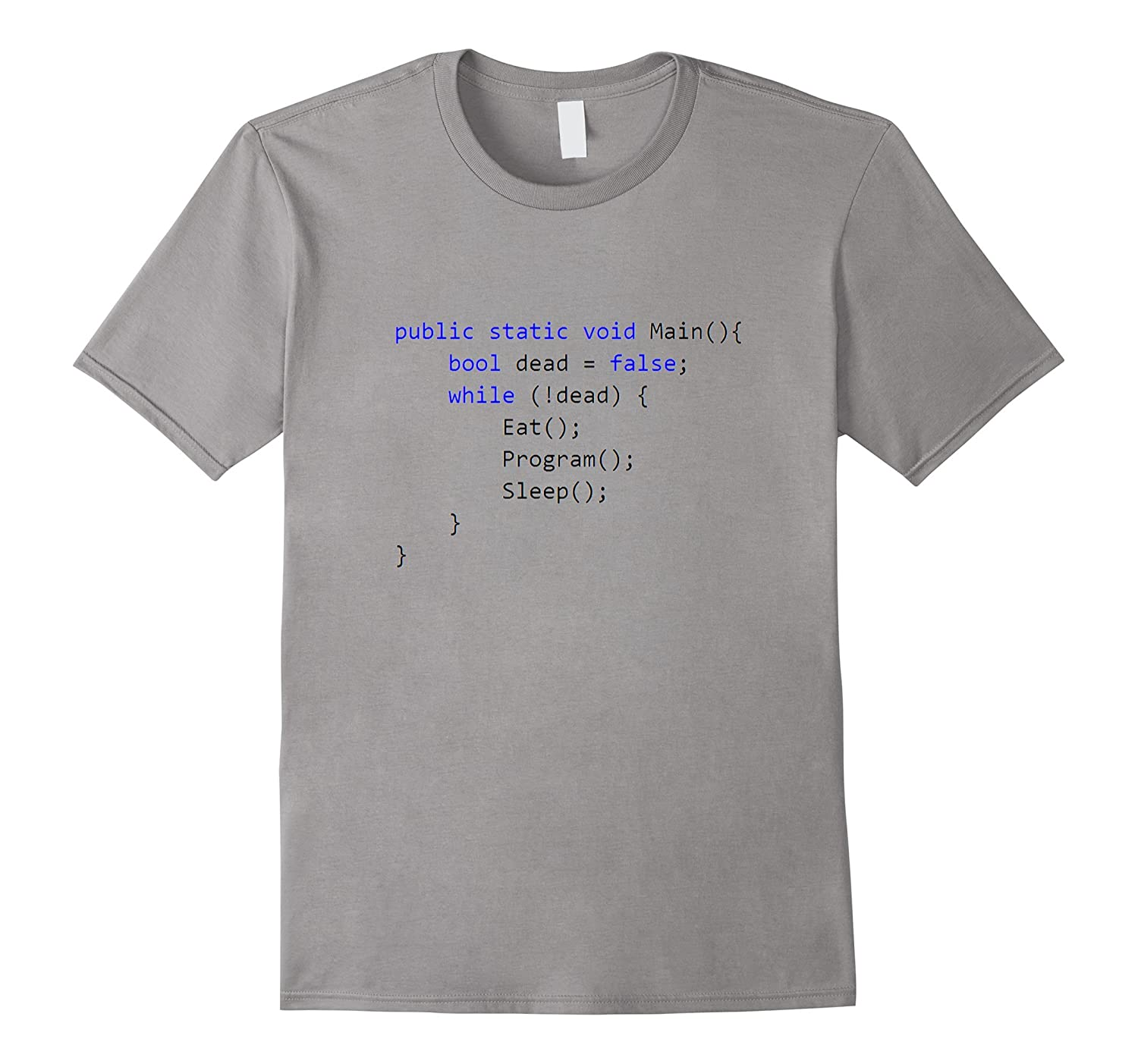 d0e97a9e C# Programming The Life As a Programmer T-Shirt-TH - TEEHELEN