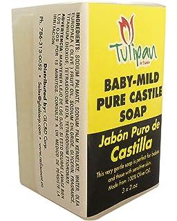 Amazon.com: Español 270 g de jabón – jabón de aceite de ...