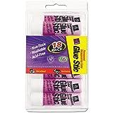 Avery 98079 Permanent Glue Stics, Purple Application, .26 oz (Pack of 18)