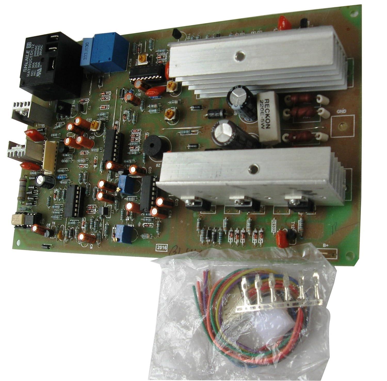 Complete 1 Kva Inverter Circuit Design With 50 Hz Sine Oscillator