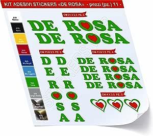 0424 - Pegatinas para bicicleta De Rosa, en Kit de 11 unidades ...