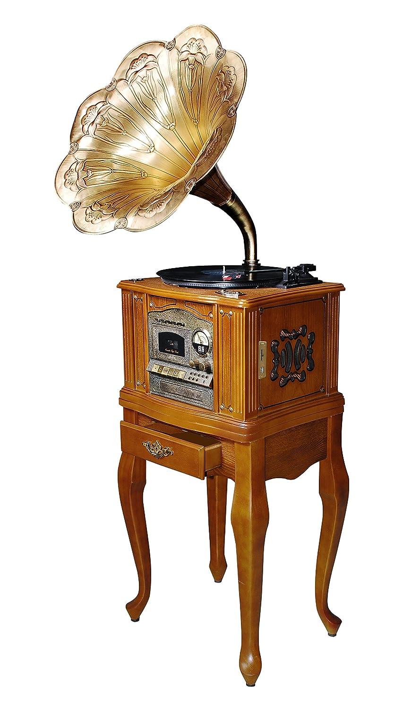 WINTECH ノスタルジックミュージックコンポ KRP-604F B00YU0W6RQ