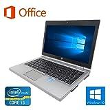 【Microsoft Office 2016搭載】【Win 10搭載】HP 2570p/第三世代Core i5-3320M 2.6GHz/大容量メモリー4GB/HDD:160GB/12インチ/無線LAN/新品外付けDVDスーパーマルチ+無線マウス/中古ノートパソコン