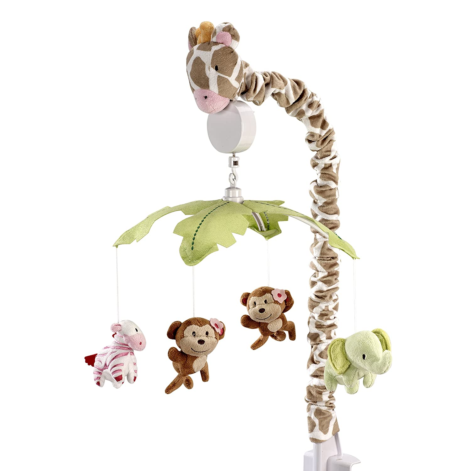 Carter's Jungle Collection Musical Mobile Crown Crafts Infant Products 5042079