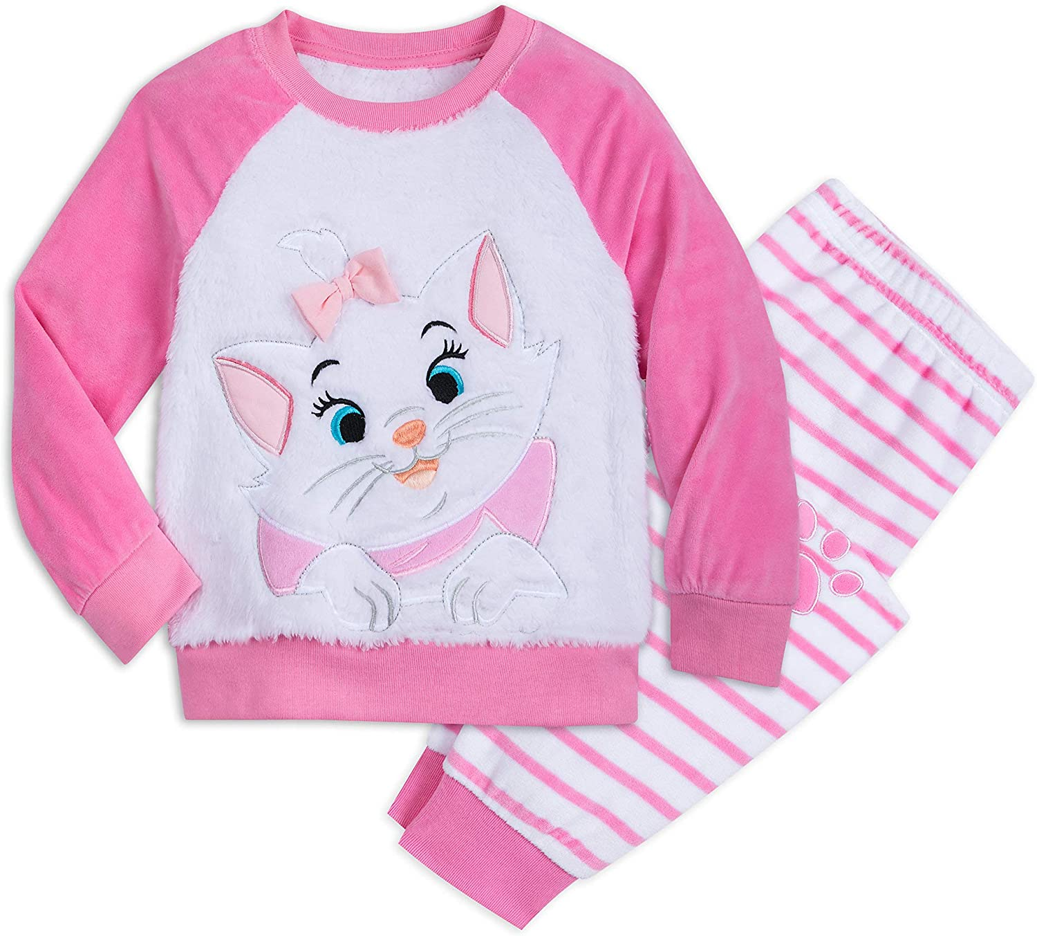 """Marie from the aristocats cat pajama fit 18/"""" dolls and american girl dolls"""