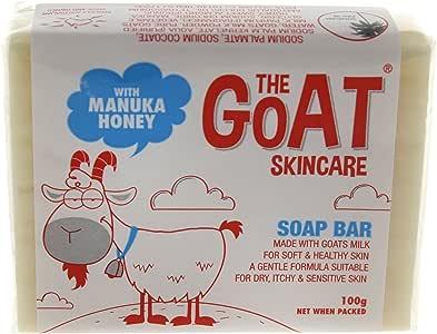 The Goat Skincare Soap Bar with Manuka Honey, 100g