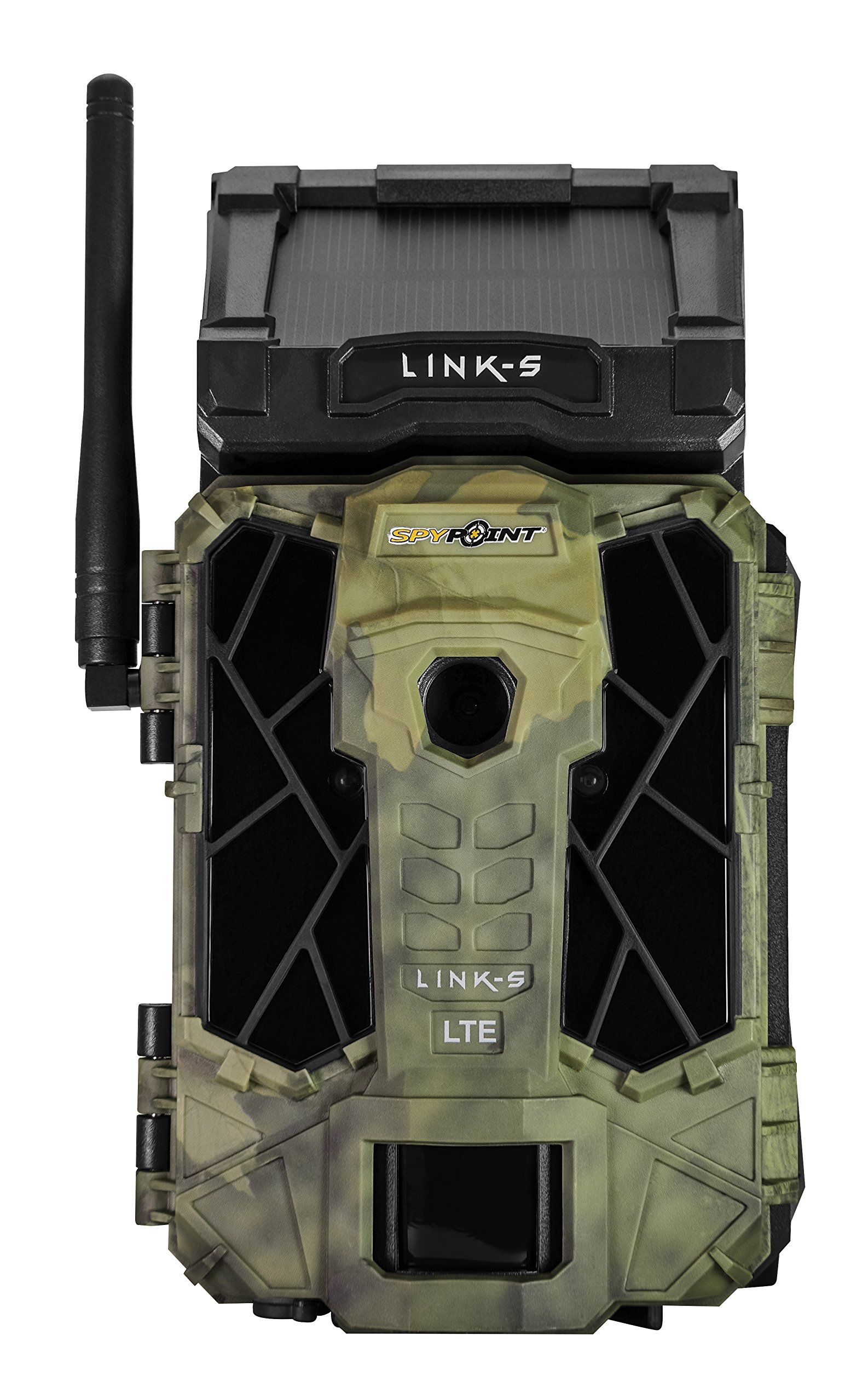 Spypoint LINK-S AT&T Solar Cellular Trail Camera, Camo by Spypoint