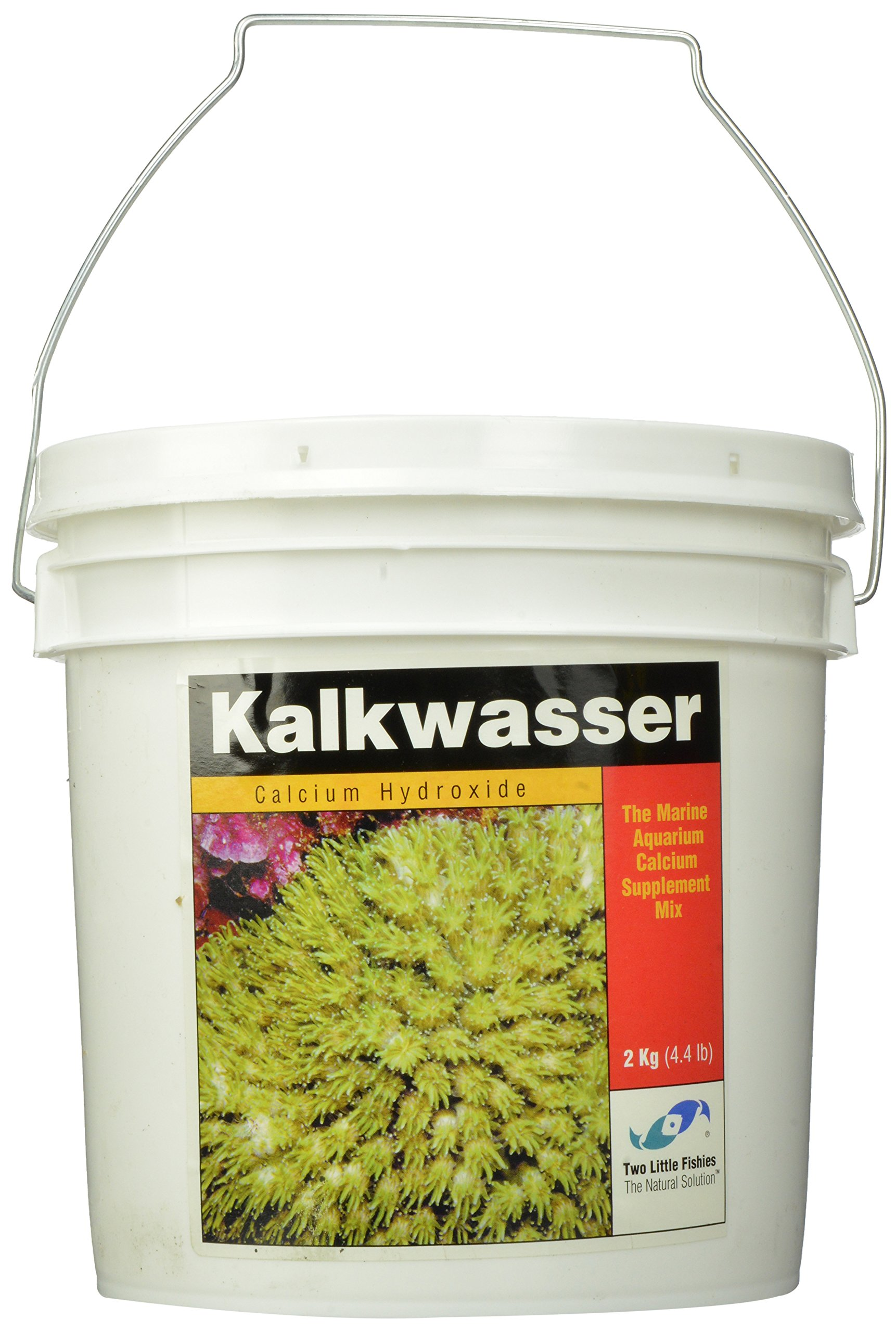 Two Little Fishies Kalkwasser Calcium Supplement for Aquarium, 2kg by Two Little Fishies