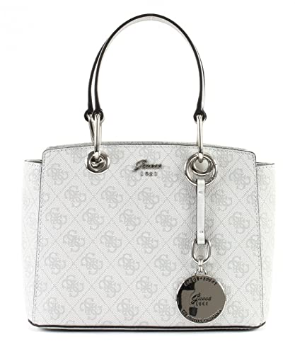 GUESS Jacqui Small Satchel Ice