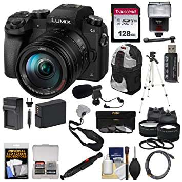 Amazon.com: Panasonic Lumix DMC-G7 - Cámara digital 4K Wi-Fi ...