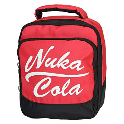 Fallout Nuka Cola Video Game Double Compartment Cooler Insulated Lunch Box Bag Tote: Kitchen & Dining