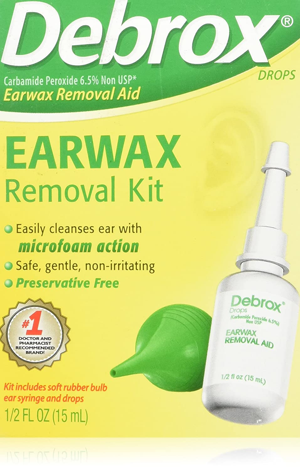 Amazon debrox earwax removal kit 1 kit health personal care solutioingenieria Images