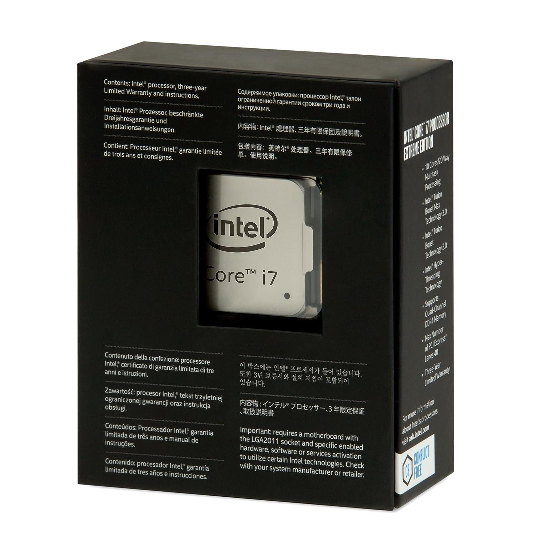Intel BX80671I76950X Core i7-6950X Prozessor schwarz PC ...