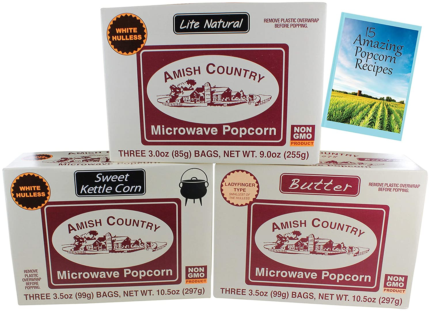 Amish Country Popcorn – Antiguo paquete de microondas ...