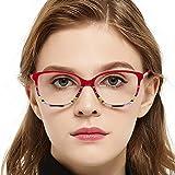 f7f5fb562dea Womens Gorgeous Oval Stripe Pattern Non-Prescription Eyewear Frames For  Elegant Lady