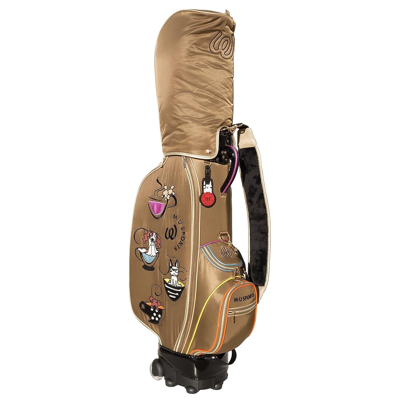 MU SportsレディースゴルフWheeledカートバッグ、703 V3101 B07DR9KLMG ブラウン