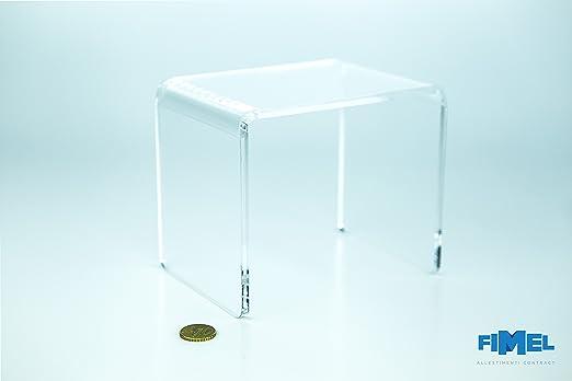 2 opinioni per Fimel- Tavolo 150x150x150 mm in plexiglass trasparente
