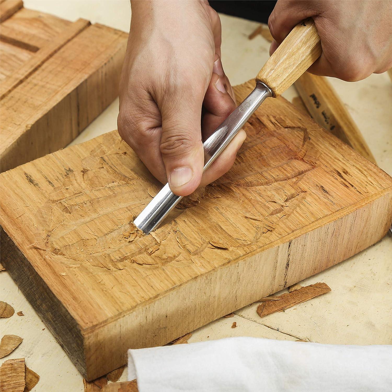 SCHAAF Full Size Wood Carving Tools Set of 12