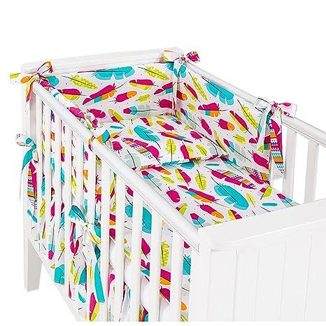 Sevira Kids – 3 piezas Ropa de cama de bebé con torre de cama y juego