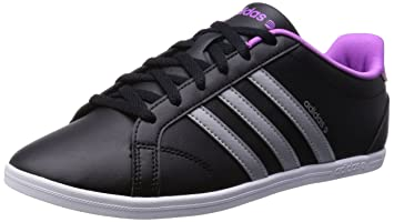 buy cheap a0235 7d0db adidas Neo CONEO QT VS Zapatillas Sneakers Negro Purpura para Mujer