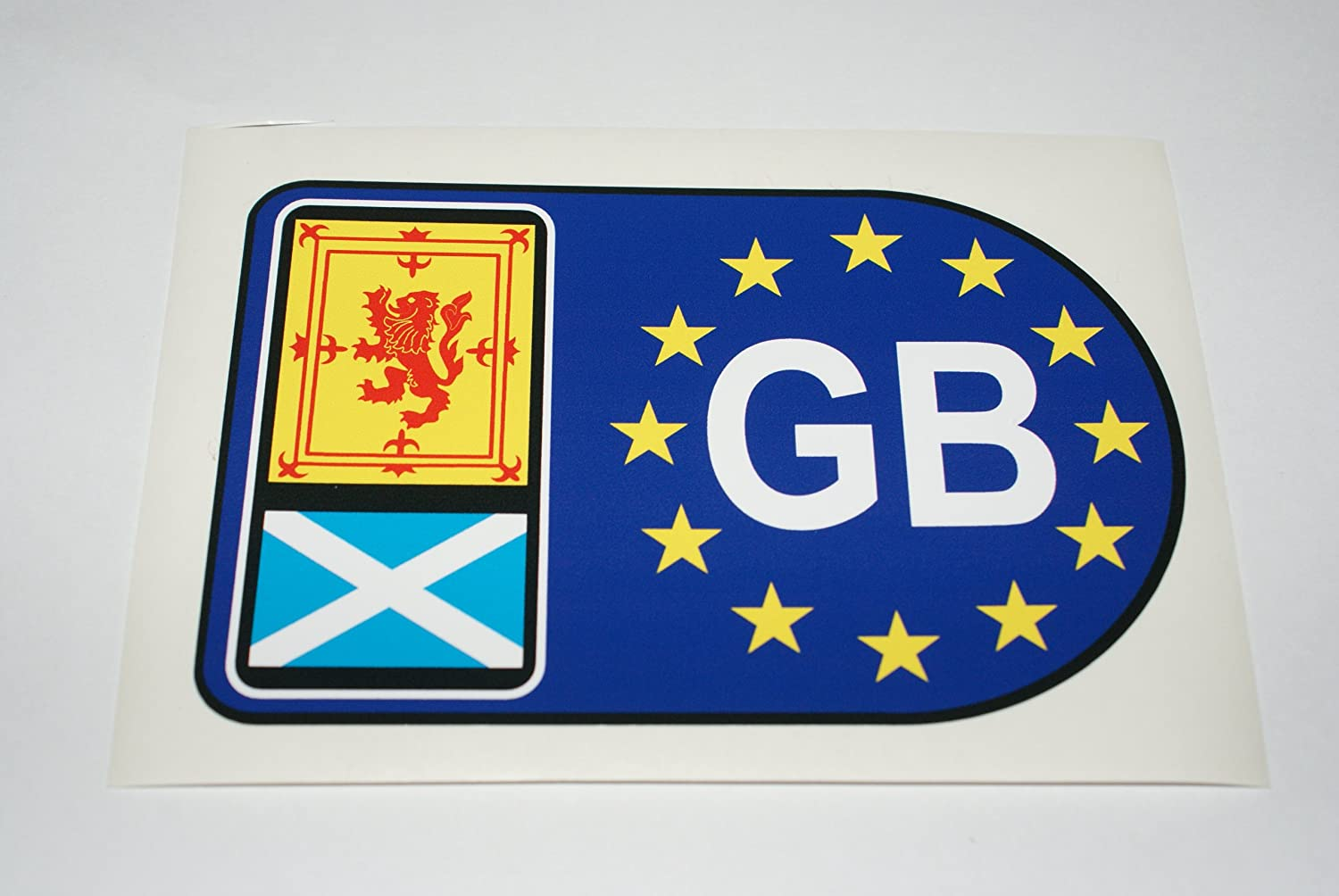 Rapro Graphics Euro Scotland Gb Decal/Sticker (Med)