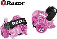 Razor Jetts DLX Heel Wheels, Ruedas de Talon - Rosa