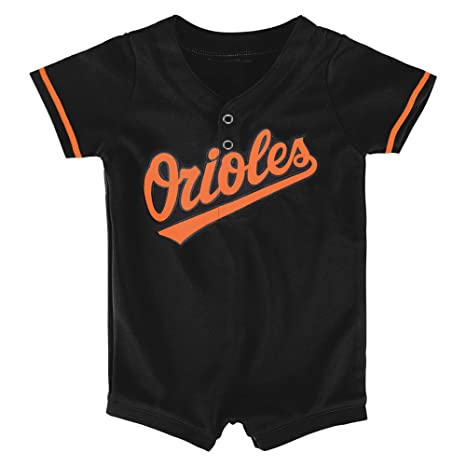 61456fc16 Outerstuff MLB Newborn Infants Cool Base Home Alternate Romper Jersey (0/3  Months,