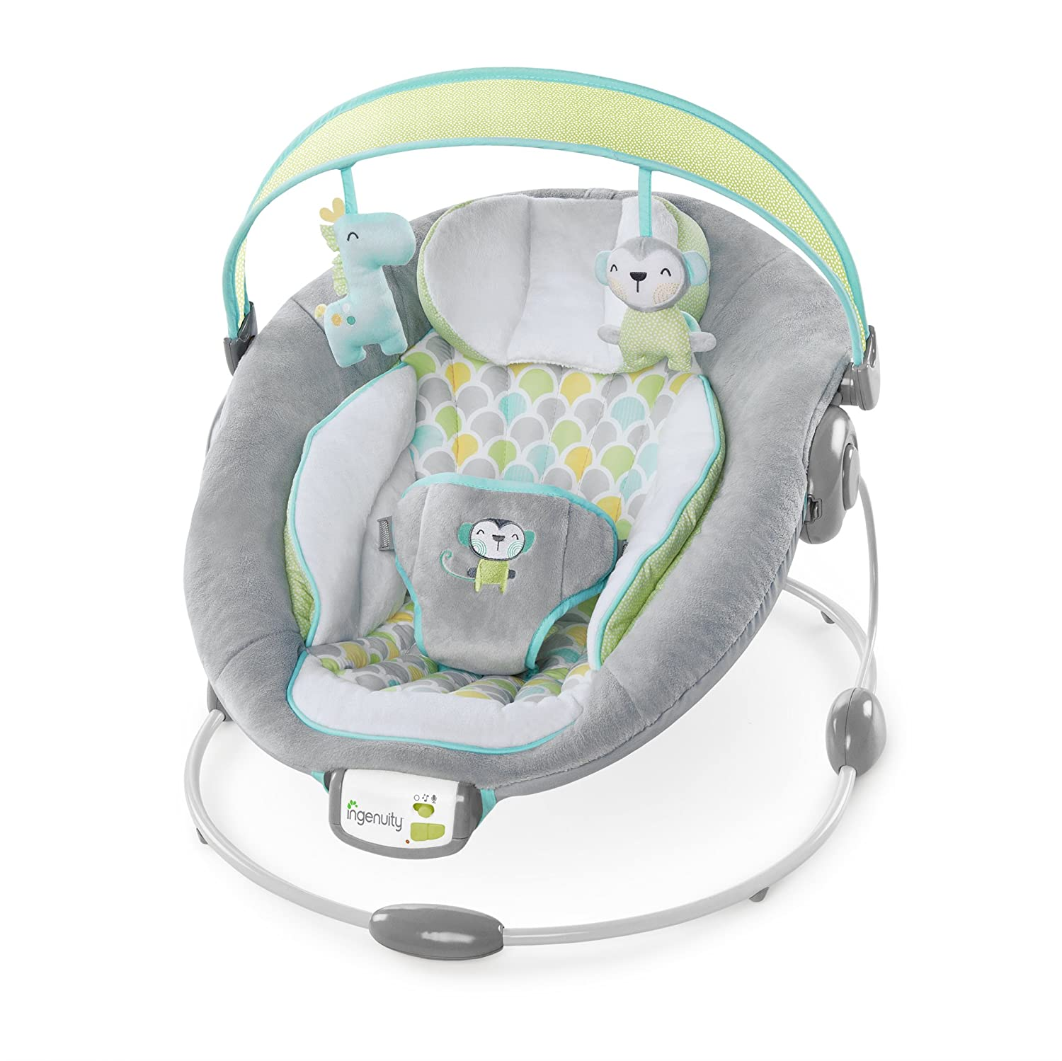 Ingenuity 60389 Soothe and Delight Bouncer  - Savvy Safari