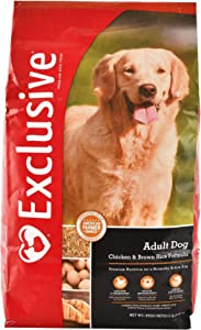 Exclusive | Adult Dog Food | Chicken and Brown Rice Recipe | Nutritionally Complete - 5 Pound (5 lb) Bag