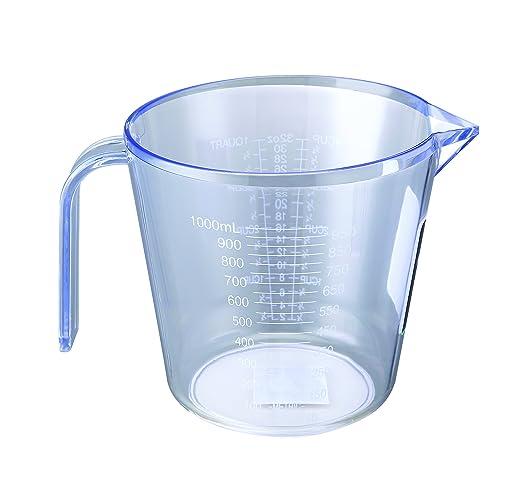 Zodiac 1 litro colorido plástico de cocinero jarra medidora jarras ...