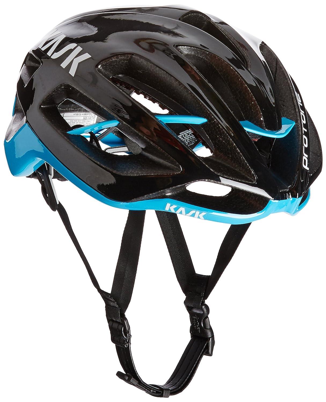 [カスク] ヘルメット PROTONE プロトーネ BLK/L.BLU Medium  B00UP7K1K2