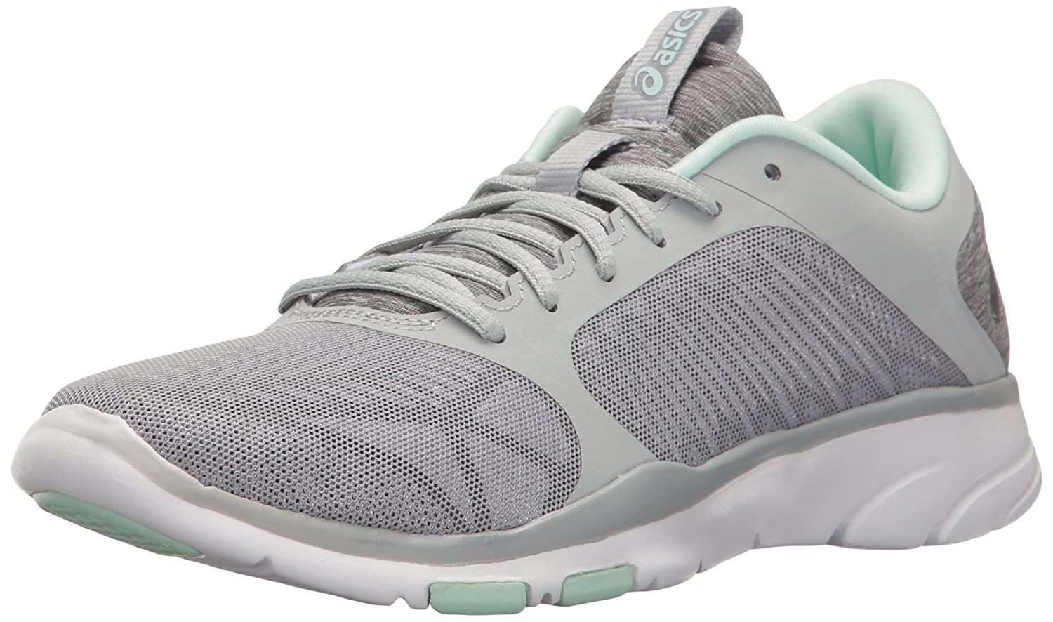ASICS Women's Gel-Fit Tempo 3 Cross-Trainer Shoe B01H2NFA98 5 B(M) US|Mid Grey/Silver/Bay
