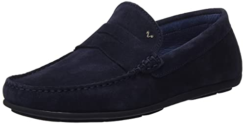 Mens Ocean 412-2114xyp Moccasins, Navy Martinelli