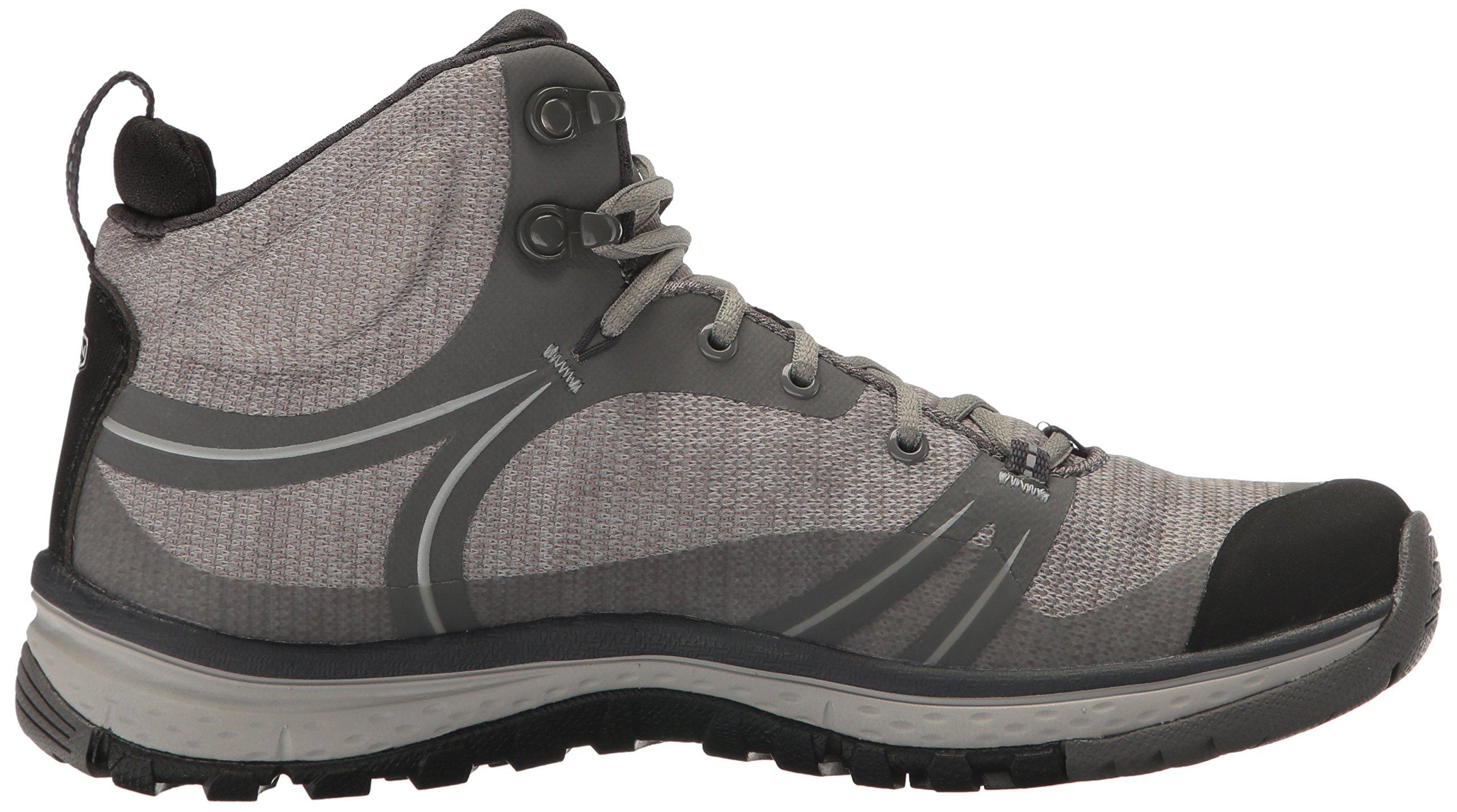 KEEN Women's Terradora Mid Waterproof Hiking Shoe, Gargoyle/Magnet, 9 M US by KEEN (Image #7)