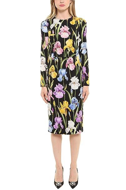 Dolce   Gabbana - Vestito - Donna Nero Dimensioni Marca 48  Amazon ... b8c620bfb01