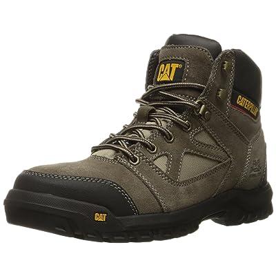 Caterpillar Men's Plan Steel Toe Work Boot: Shoes