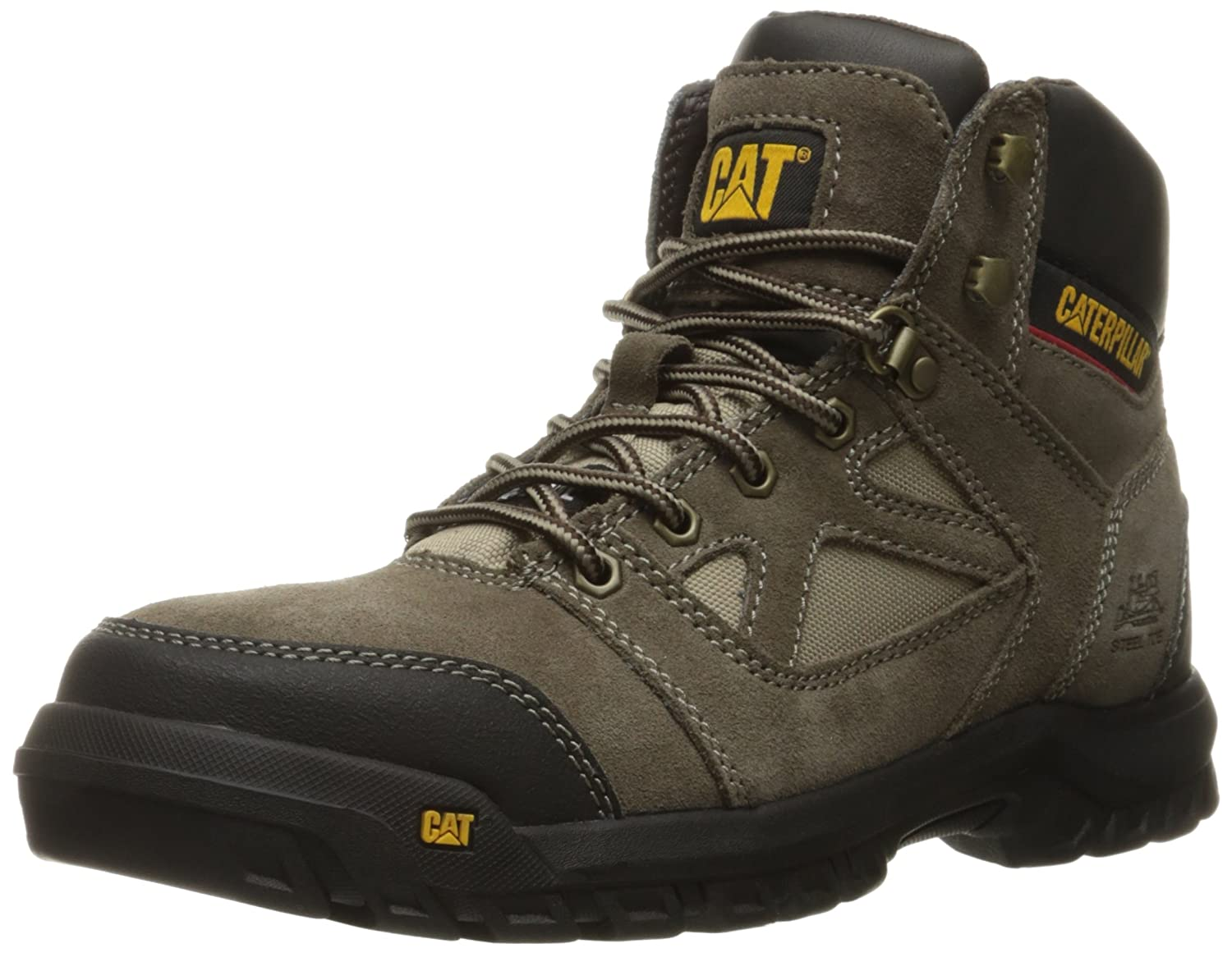 Amazoncom Caterpillar Mens Plan Steel Toe Work Boot Shoes