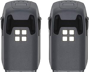 DJI 2X 1480 mAh Intelligent Flight Battery for Spark Drone, Basic Pack (43222-5656)
